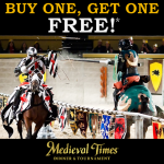 Spring Break BOGO at Medieval Times