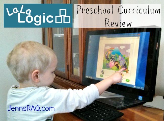 La La Logic Preschool Curriculum Review on Jennsraq.com