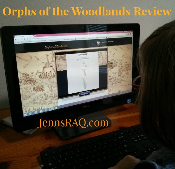 Orphs of the Woodland Review from Star Toaster - A great online summer reading program
