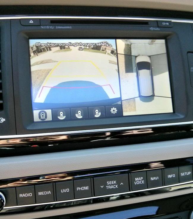 2015 Kia Sedona SX-L 360 degree back up camera