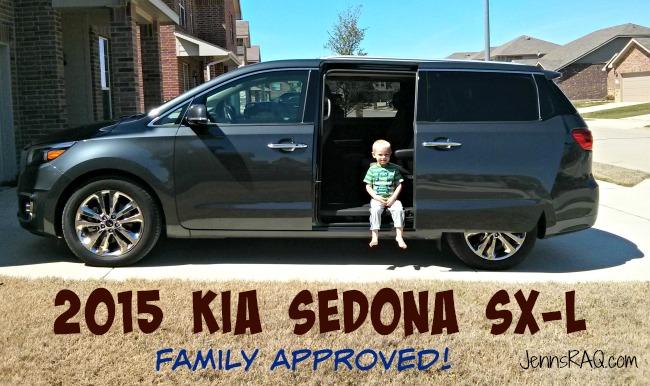 2015 Kia Sedona SX-L Family Approved Review on JennsRAQ.com