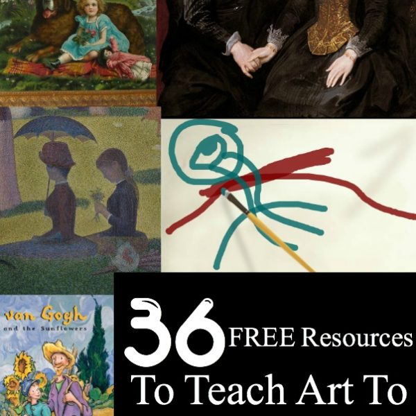 36 Free Resources to Teach Art to Preschoolers