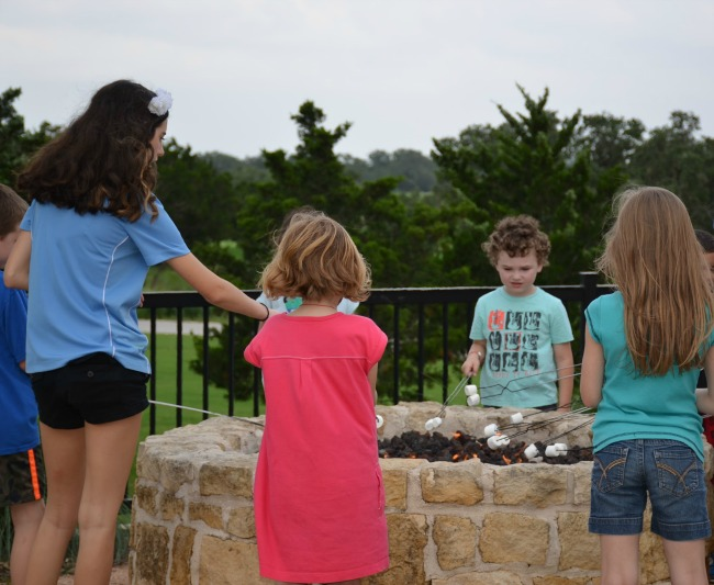 Bacon Smores at Range Riders Club Kids Night Out Kid Activities at the JW Marriott San Antonio Hill Country Resort & Spa