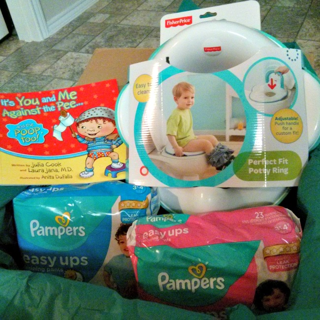 Be Prepared when you begin potty training