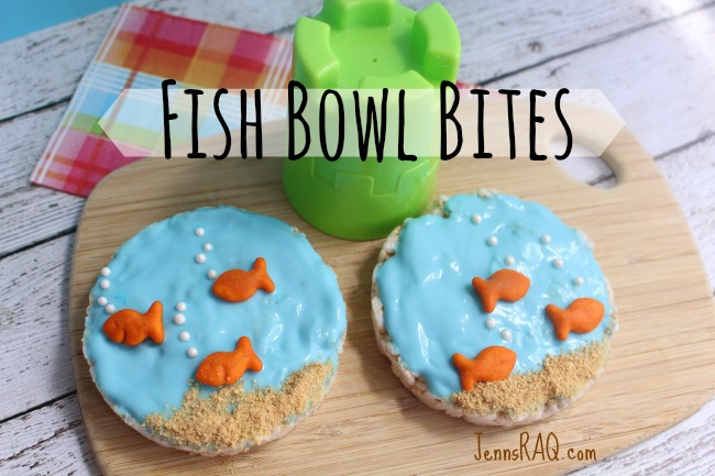Fish Bowl Bites Preschool Snack from JennsRAQ.com