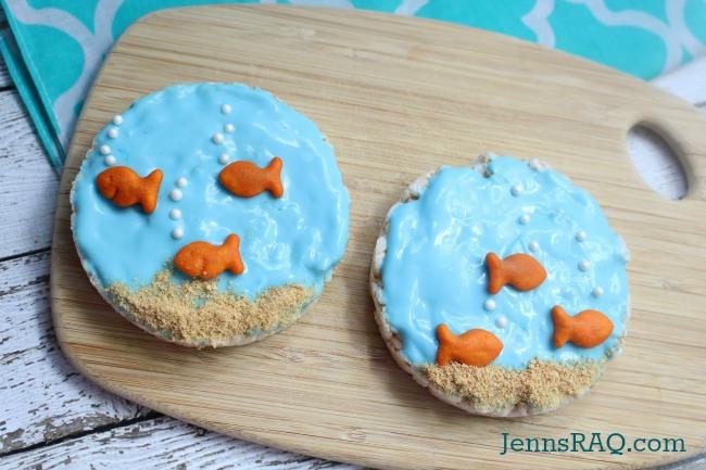 Fish Bowl Bites - The Perfect Preschool Treat and Snack from JennsRAQ.com
