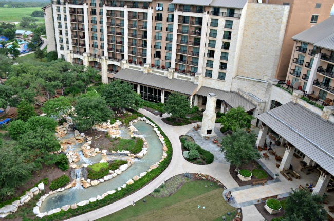 Inner Courtyard at JW Marriott San Antonio Hill Country Resort and Spa