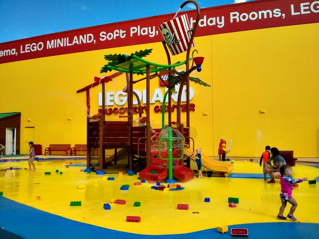 LEGOLAND Discovery Center Dallas Grapevine Texas Pirate Beach Water Playground Splashpark
