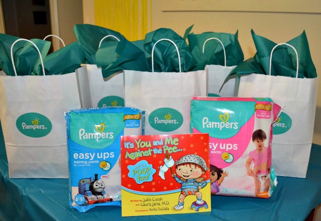 Pampers Easy Ups Potty Training Party