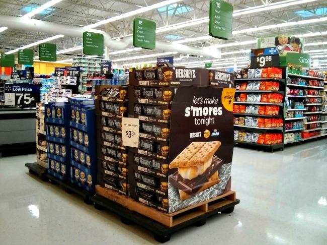 Smores Ingredients found at Walmart #LetsMakeSmores #CollectiveBias #Ad