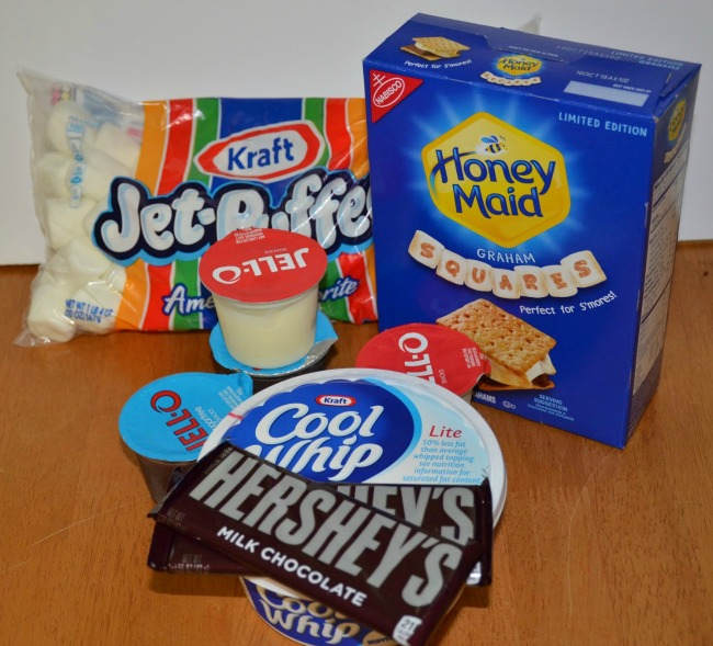 S'mores Summer Parfait Recipe Ingredients for a Quick and Easy Weeknight Dessert on JennsRAQ.com  #LetsMakeSmores #CollectiveBias #Ad