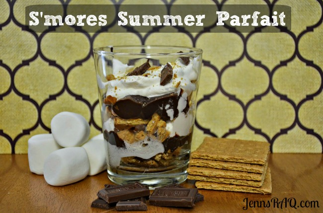 S'mores Summer Parfait Recipe for a Quick and Easy Weeknight Dessert on JennsRAQ.com  #LetsMakeSmores #CollectiveBias #Ad