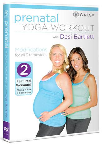 gaiam prenatal workout dvd