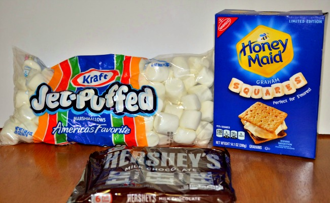 S'mores ingredients found at Walmart #LetsMakeSmores #CollectiveBias #Ad