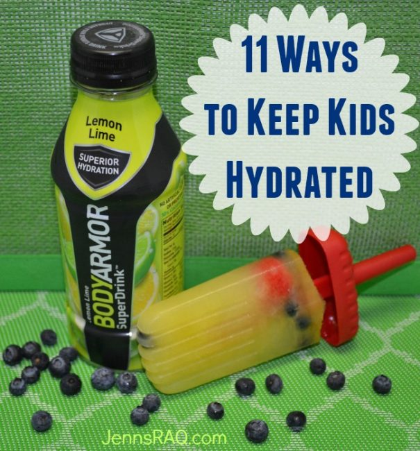 11 Ways to Keep Kids Hydrated from JennsRAQ.com