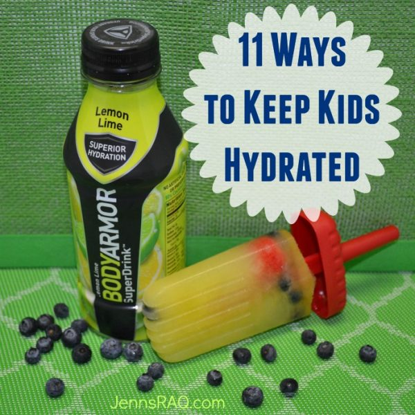 11 Ways to Keep Kids Hydrated