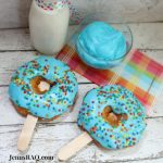 Celebrate with Frosted Donut Pops {semi-homemade recipe}