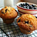 Old Fashioned Blueberry Muffins