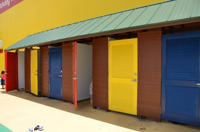 Pirate Beach at LEGOLAND Discovery Center Changing Rooms