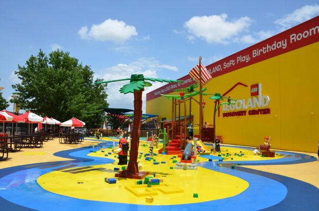 Pirate Beach at LEGOLAND Discovery Center Grapevine Texas