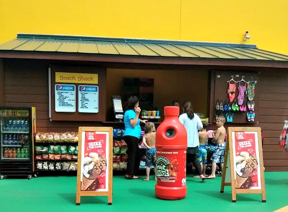 Pirate Beach at LEGOLAND Discovery Center Grapevine Texas Snack Shack