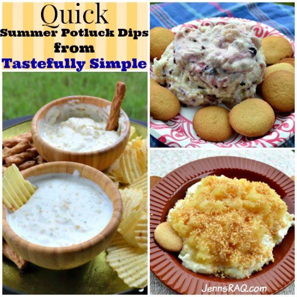 Quick Summer Potluck Dips from Tastefully Simple
