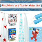 Red White and Blue for Baby Too