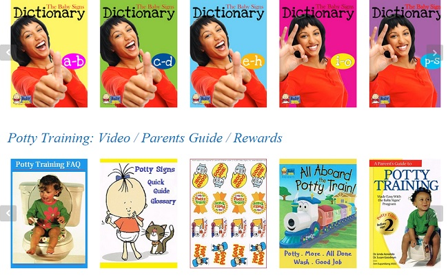 SmartKidz Media Library for Homeschoolers Baby Signs Collection