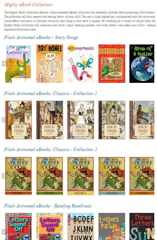 SmartKidz Media Library for Homeschoolers Might Ebook Collection