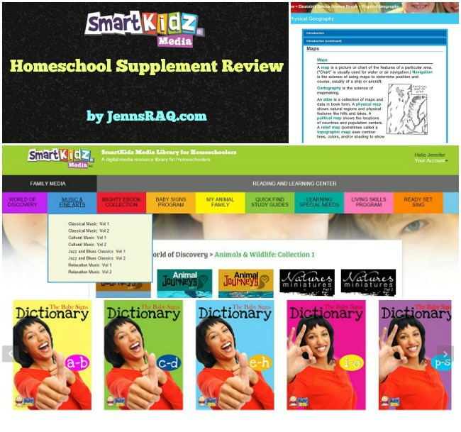 SmartKidz Media Library for Homeschoolers Review by JennsRAQ.com