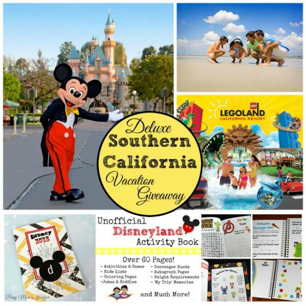 Deluxe Southern California Vacation Giveaway + Win $10 Amazon from Me