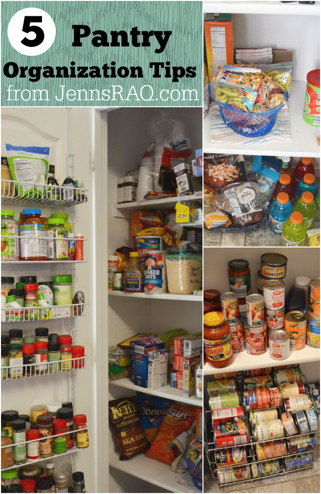 5 Pantry Organization Tips from JennsRAQ.com #AHugeSale #CollectiveBias #Ad