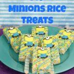 Minions Rice Treats