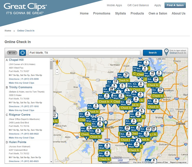 Great Clips Online Check-In as seen on JennsRAQ.com