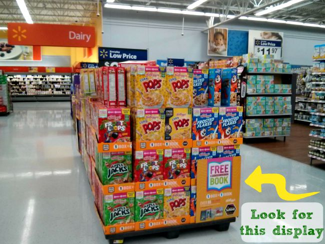 Kellogg's Products Can Be Found In-Store at Special Displays #Back2SchoolReady #Ad