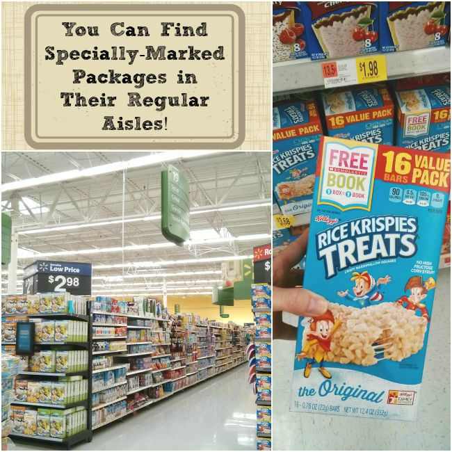 Kellogg's Products Can Be Found In-Store in regular aisles as well #Back2SchoolReady #Ad