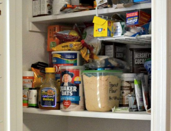 Most Used Things at Eye Level 5 Pantry Organization Tips from JennsRAQ.com #AHugeSale #CollectiveBias #Ad