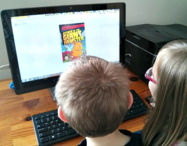 My kids are really enjoying their free book thanks to Kellogg's #Back2SchoolReady #Ad