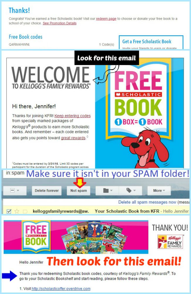 Once your codes have been redeemed check your email for the next steps #Back2SchoolReady #Ad
