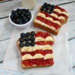 Patriotic Toast + Homemade Honey Wheat Bread