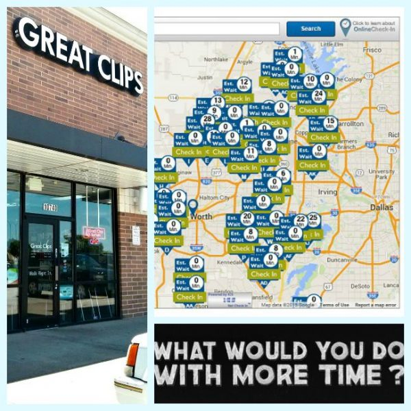 Save #MoreMinutes with Online Check-In at Great Clips