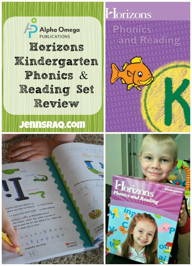 Alpha Omega Publications Horizons Phonics & Reading Kindergarten from JennsRAQ.com