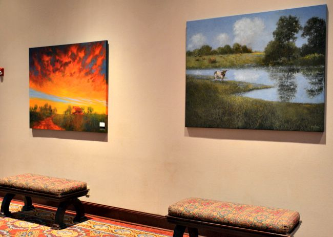 Art Work at the Worthington Renaissance Fort Worth Hotel as seen on JennsRAQ.com