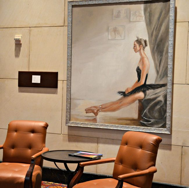 Beautiful Artwork at the Worthington Renaissance Hotel Fort Worth Texas as seen on JennsRAQ.com