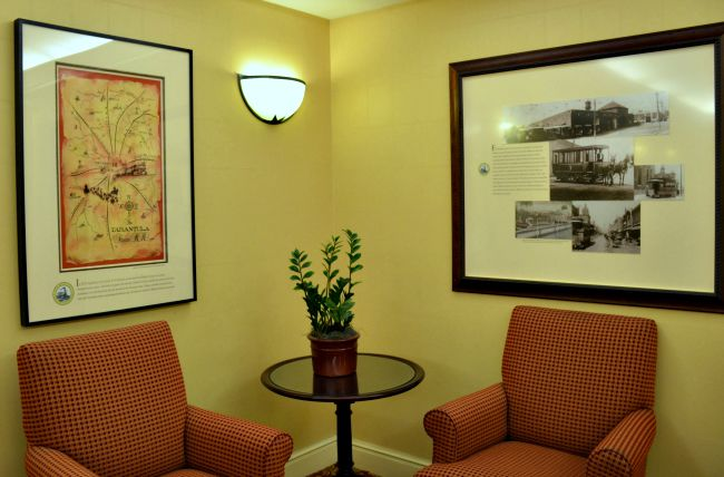 Local Texan Art and Decor at Renaissance Worthington Hotel in Fort Worth Texas as seen on jennsRAQ.com