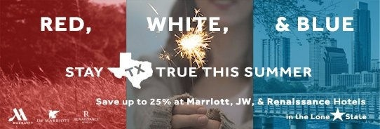 Red White and Blue Summer Stay Promotion as seen on JennsRAQ