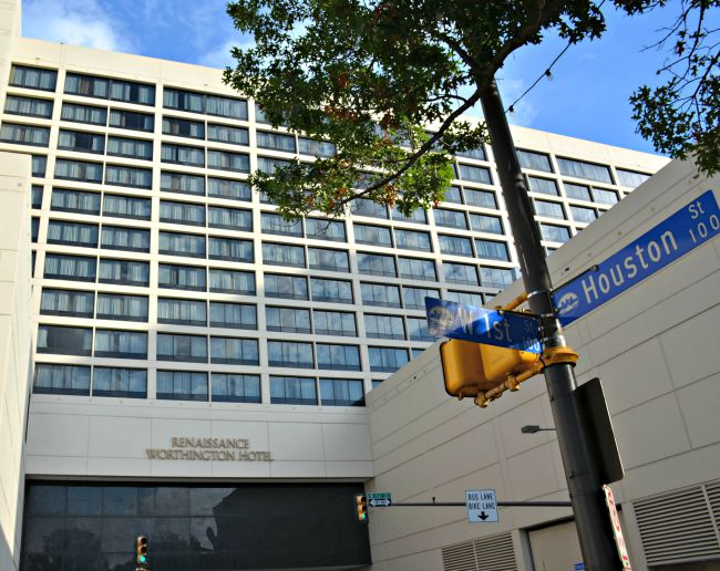 Renaissance Worthington Hotel in Fort Worth Texas as seen on jennsRAQ.com