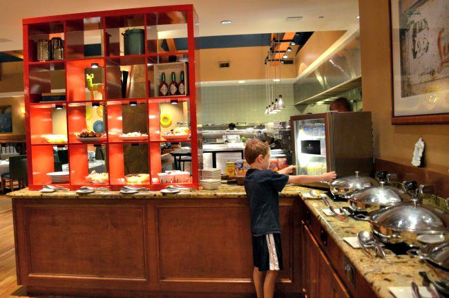 Vidalias Restaurant breakfast buffet at Renaissance Worthington Hotel in Fort Worth Texas as seen on jennsRAQ.com