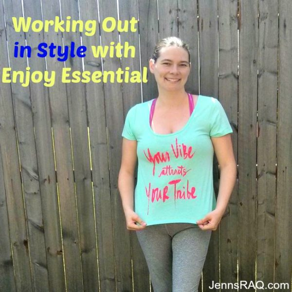 Working Out in Style with Enjoy Essential