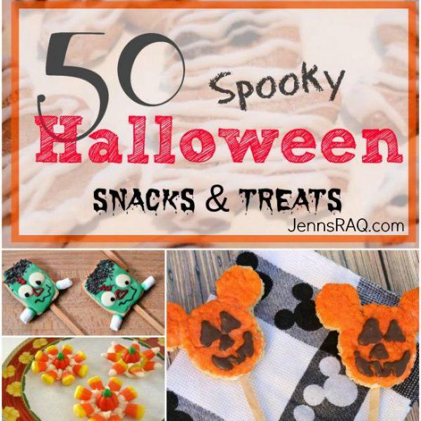 50 Spooky Halloween Snacks and Treats